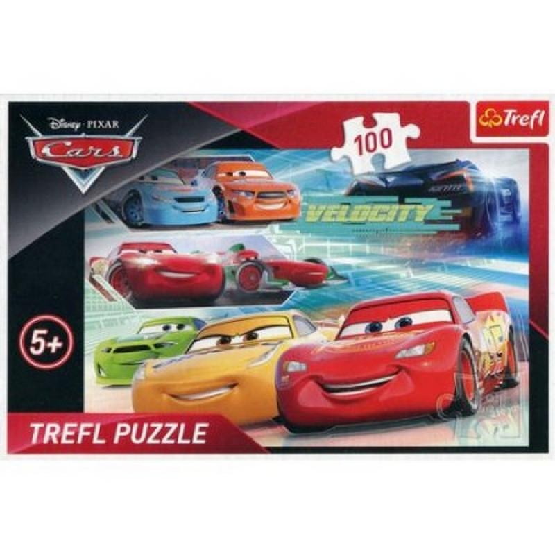 Chlapecké puzzle Cars / Auta / Velocity 100 dílků / vecizfilmu