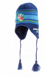 Chlapecká tmavě modrá čepice / ušanka Angry Birds Rio velikost 54 cm