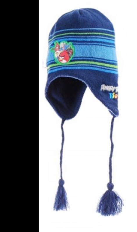 Chlapecká tmavě modrá čepice   ušanka Angry Birds Rio velikost 54 cm    vecizfilmu 536690b673