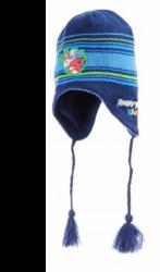 Chlapecká tmavě modrá čepice / ušanka Angry Birds Rio velikost 56 cm