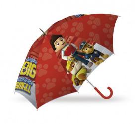 Deštník Tlapková Patrola / Paw Patrol Red / vecizfilmu