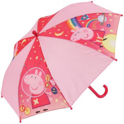 Deštník Prasátko Peppa / Peppa Pig / Hvězdy / vecizfilmu