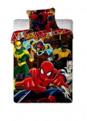 Chlapecké povlečení s s hrdiny filmu Spiderman / All Heroes / 140 x 200 cm / 70 x 90 cm / vecizfilmu