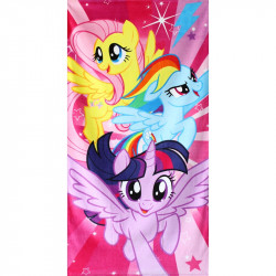 Plážová osuška My Little Pony / 70 x 140 cm / veci z filmu