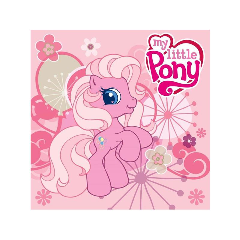 Magický dívčí ručník My Little Pony růžový 30 x 30 cm