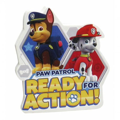 Školní dekorativní guma Paw Patrol Jumbo / Tlapková patrola / veci z filmu