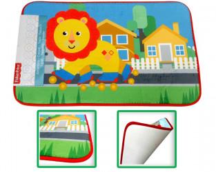Dětský kobereček Fisher Price / lion / 45 x 75 cm / veci z filmu