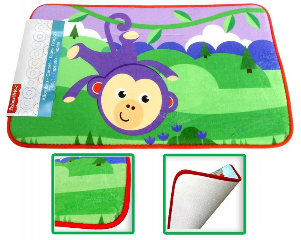 Dětský kobereček Fisher Price / monkey / 43 x 75 cm