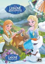 Omalovánka A5 Frozen - Ledové Králoství