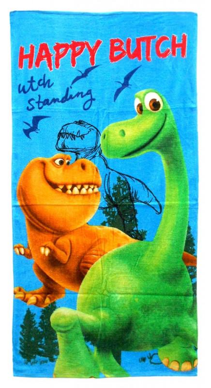 Plážová osuška / ručník Hodný Dinosaurus Happy Butch / 70 x 140 cm