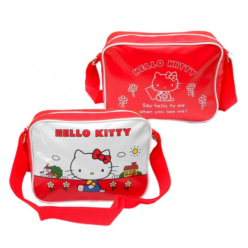 Taška dívčí na jedno rameno Hello Kitty  / 24 x 18 x 8,5 cm