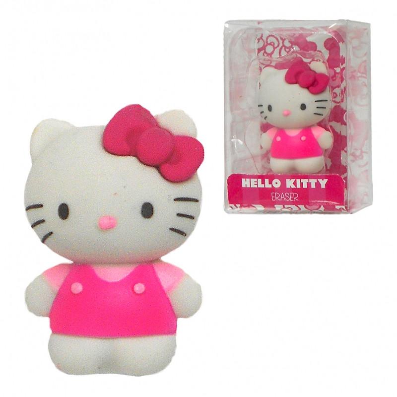 Dekorativní školní guma Hello Kitty / 7 x 4,5 x 3,5 cm