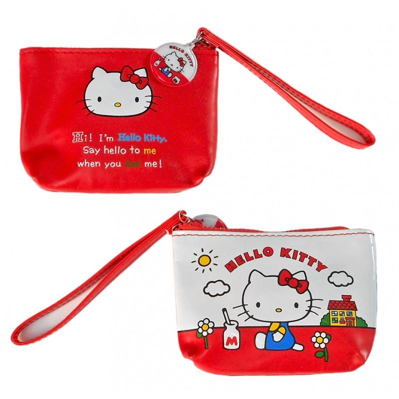 Dívčí peněženka na drobné Hello Kitty / 13 x 9 x 2  cm
