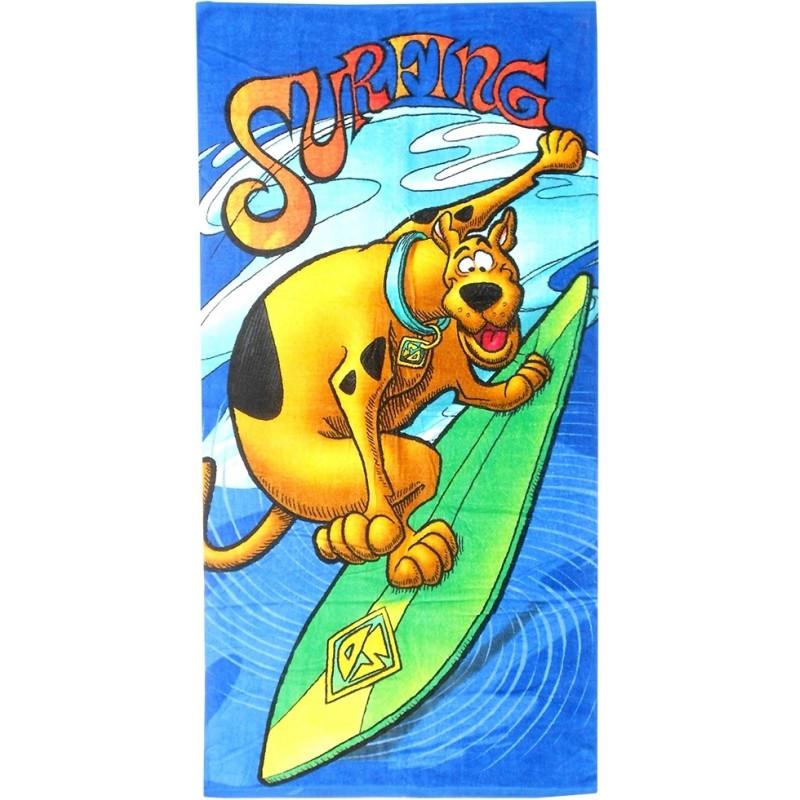 Plážová osuška ručník / Scooby Doo Surfing / 70 x 140 cm