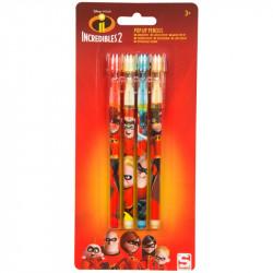 Posunovací tužky Úžasňákovi / Incredibles / 1 x 22 x 10 cm / 4 kusy v balení / veci z filmu