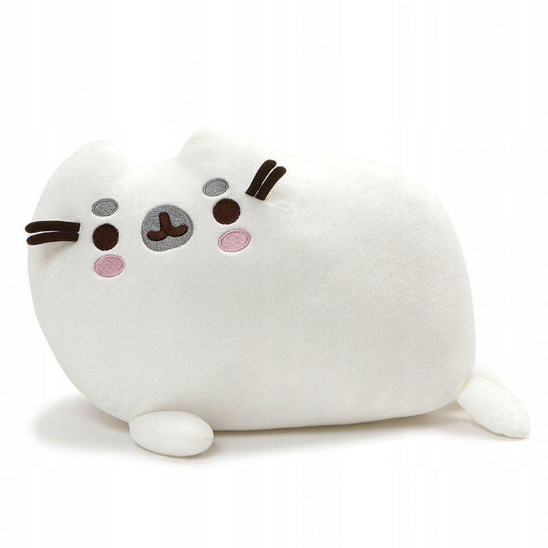 Dívčí plyšová figurka Kočička Pusheen Bílá 33 cm