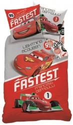 Povlečení Cars Fastest 140/200