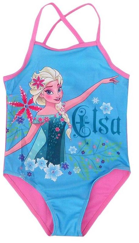 Dívčí jednodílné plavky Elsa / Frozen / Ledové království / vel. 128 cm