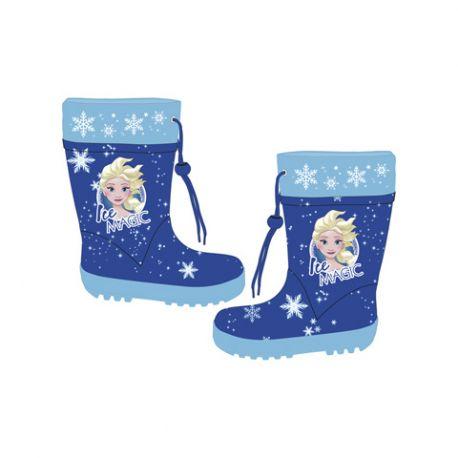 Dívčí gumáky s utahovací šňůrkou Elsa   Frozen   Ledové království 24 - 34 013ad8d29f6
