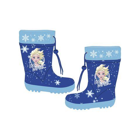 Dívčí gumáky s utahovací šňůrkou Elsa / Frozen / Ledové království 24 - 34