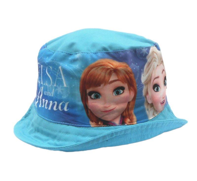 Dívčí letní klobouček Anna a Elsa / Frozen / Ledové Království velikost 52 cm