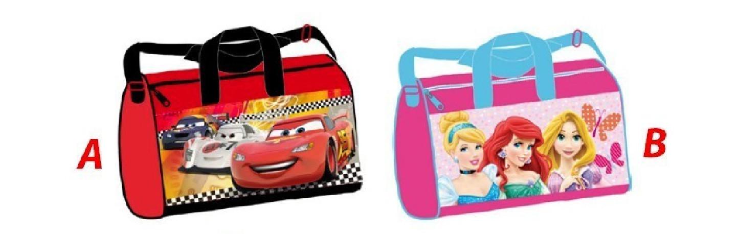 Taška Sportovní Disney Cars / Princess 37 x 21 x 20 cm / vecizfilmu