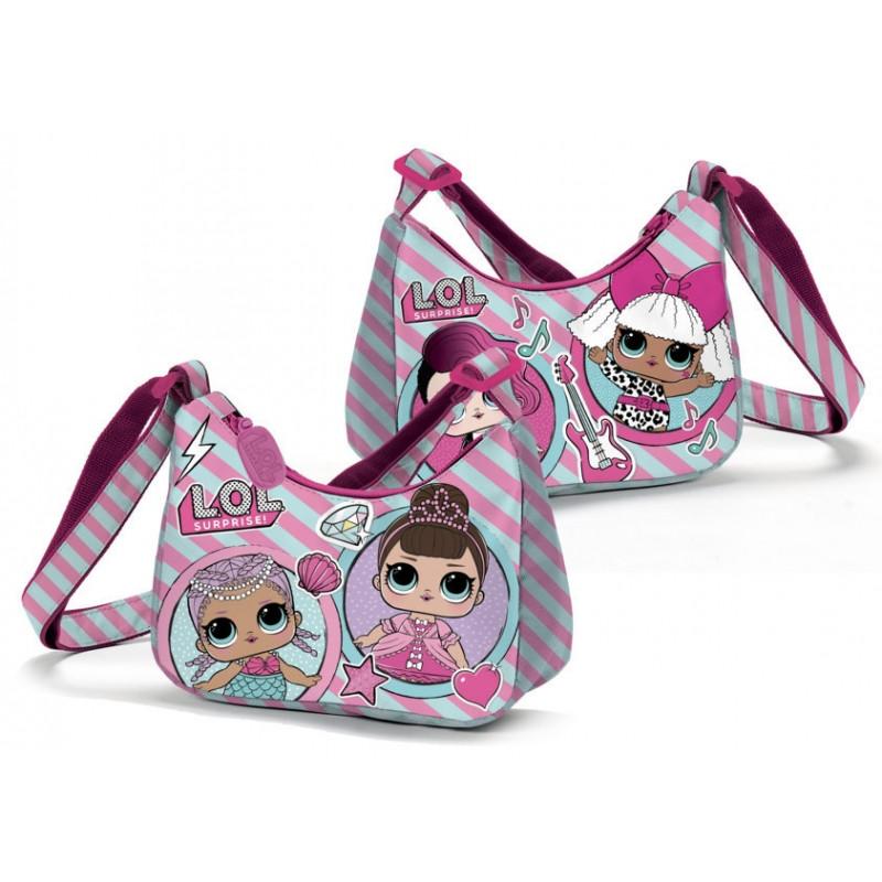 Dívčí kabelka pro fanynky LOL Surprise 18 x 10 x 7 cm