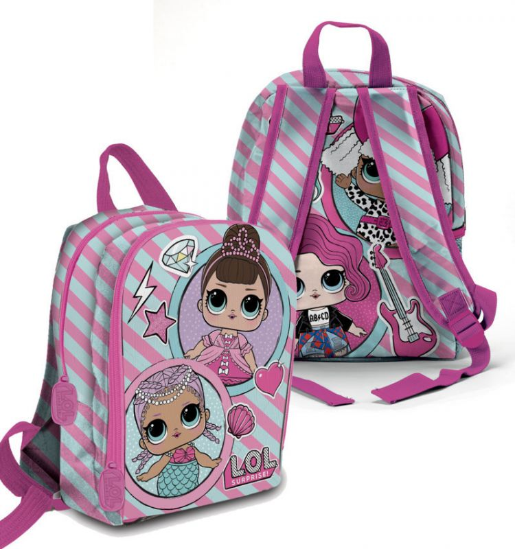 Dívčí batoh pro fanynky LOL Surprise Purple 25 x 32 x 10 cm   vecizfilmu e2e901e29c
