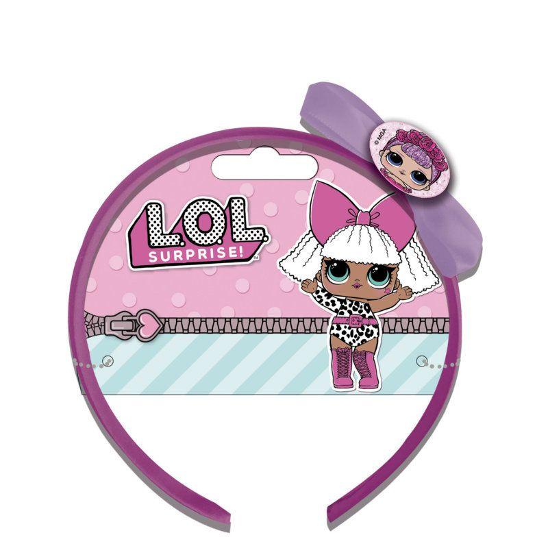 Dívčí čelenka s mašličkou pro fanynky LOL Surprise