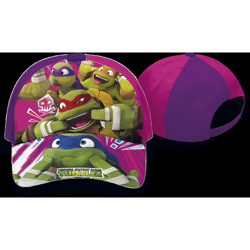 Dívčí kšiltovka pro fanynky Želvy Ninja / Ninja Turtles 52 /54 cm