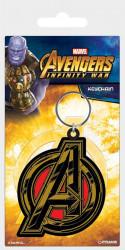 Gumový přívěšek na klíče Avengers Infinity War / Avengers Symbol / vecizfilmu