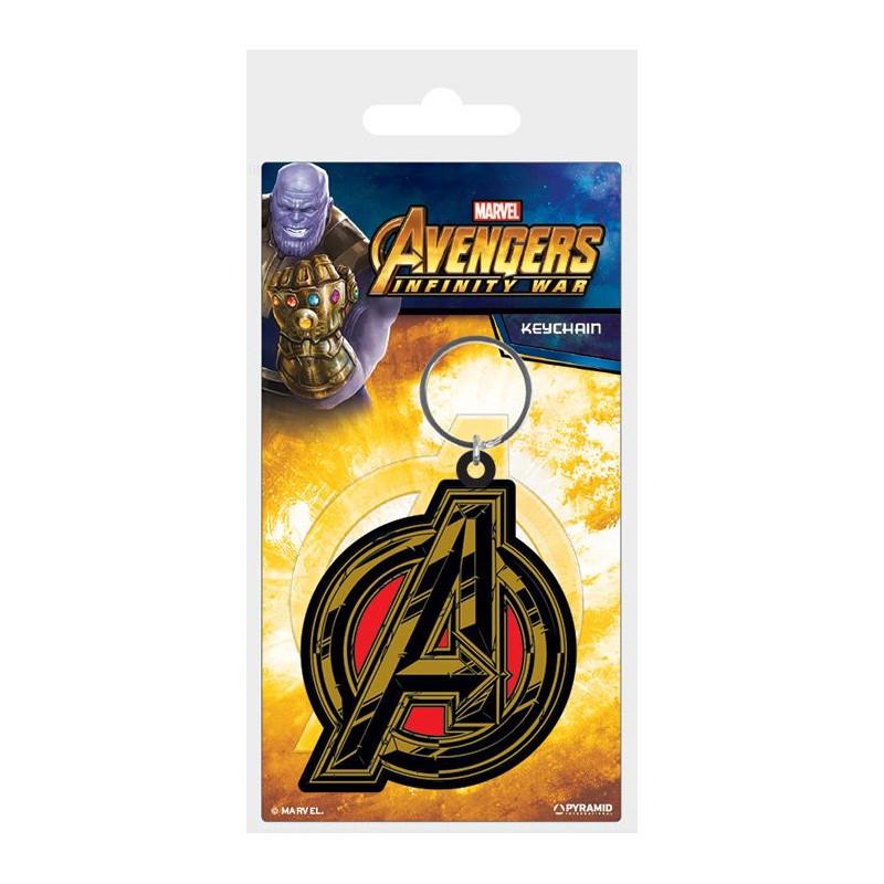 Gumový přívěšek na klíče Avengers Infinity War / Avengers Symbol