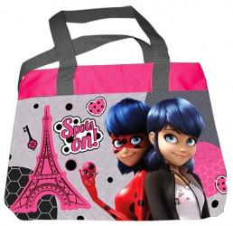 Dívčí kabelka / taška přes rameno Zázračná Beruška / Miraculous Ladybug / Paris / 28 x 21 x 8 cm