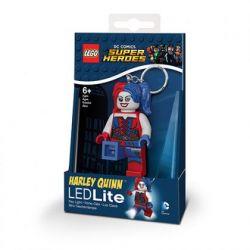 3D přívěšek na klíče s LED baterkou / Batman Movie / Harley Quinn / vecizfilmu