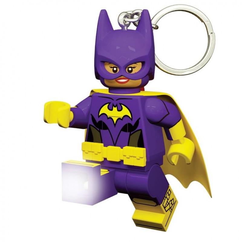 3D přívěšek na klíče s LED baterkou / Batman Movie / Batgirl