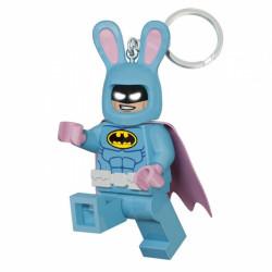 3D přívěšek na klíče s LED baterkou / Batman Movie / Bunny Batman / vecizfilmu