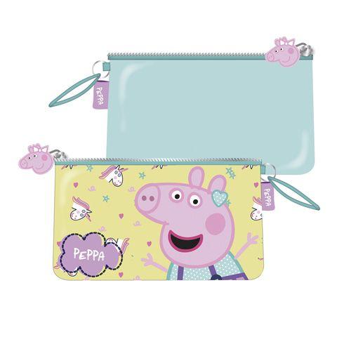 Dětská kosmetická taštička / kapsička na zip Prasátko Peppa / Peppa Pig 24 x 14 cm
