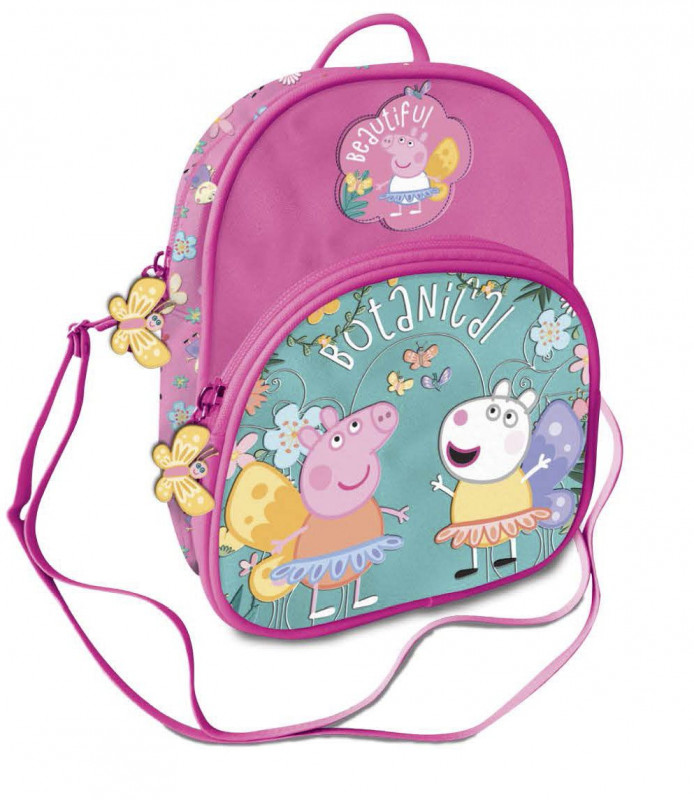 Dívčí příruční taška přes rameno Prasátko Peppa / Peppa Pig Botanical