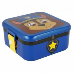 Plastová krabička na svačinu / lunch box Chase / Paw Patrol / Tlapková Patrola