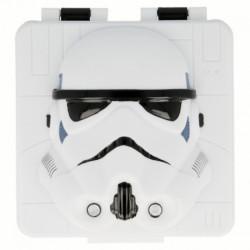Plastová 3D krabička na svačinu / lunch box Stormtrooper / Star Wars / Hvězdné Války