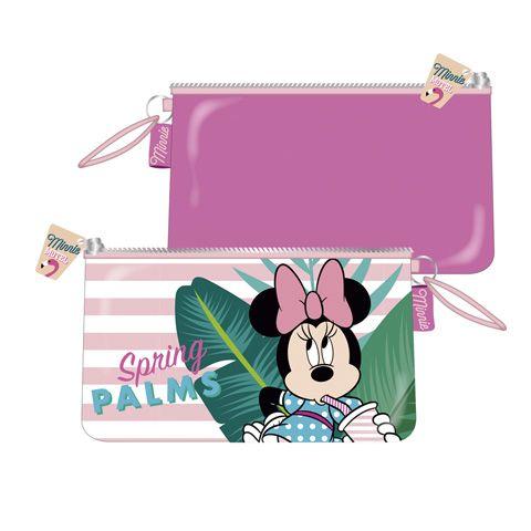 Dívčí kosmetická taštička / kapsička na zip Myška Minnie / Minnie Mouse / Palms Springs  24 x 14 cm