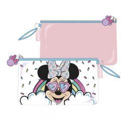 Kosmetická taštička Minnie Mouse / Duha