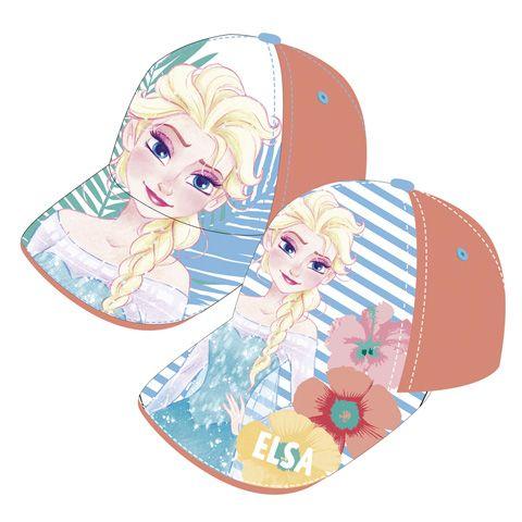 Dívčí kšiltovka s oblíbenou princeznou Elsou / Frozen / Ledové Království / 51 / 54 cm