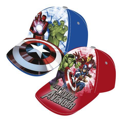 Chlapecká kšiltovka s oblíbenými hrdiny Avengers / 51 / 54 cm