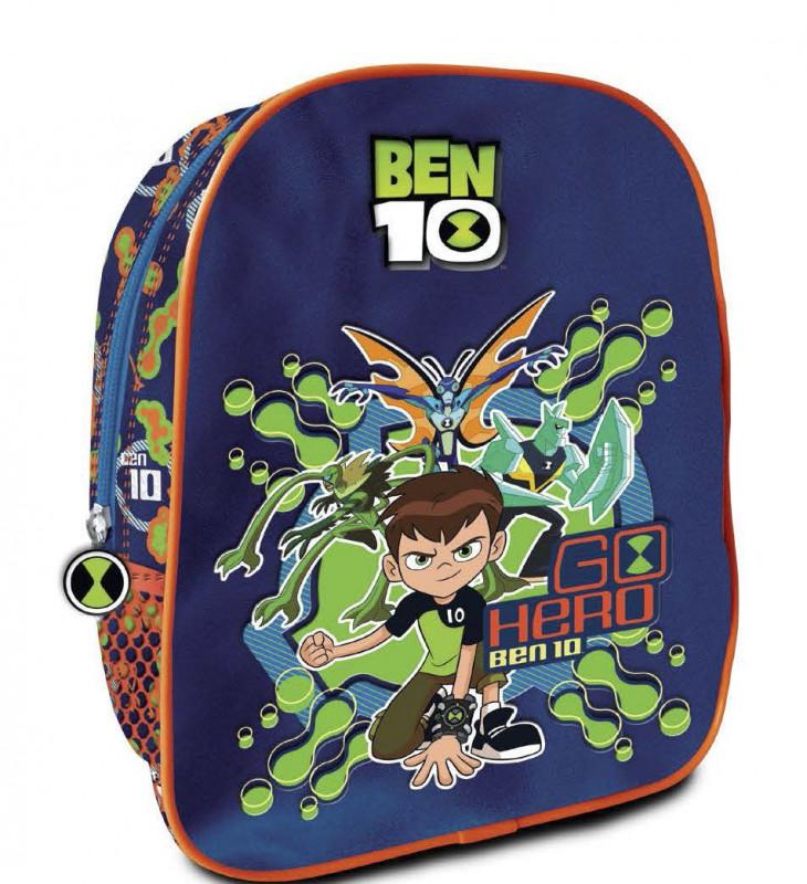 Chlapecký junior batoh do školky s motivem pohádky Ben 10 / Go Hero