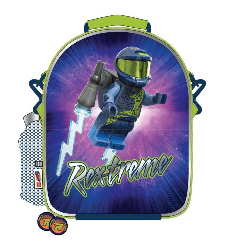 Chlapecká termo taška na svačinu / lunch box Lego Movie / 24 x 19 x 9 cm