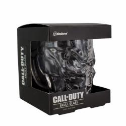 3D tvarovaná sklenice ve tvaru lebky / Call of Duty