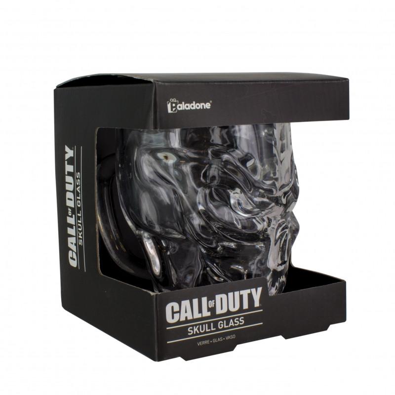 3D tvarovaná sklenice ve tvaru lebky / Call of Duty / vecizfilmu