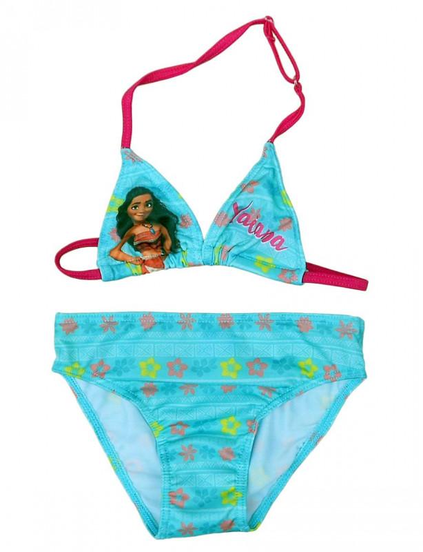 Dívčí dvojdílné plavky s hrdinkou Vaiana 128 cm / vecizfilmu