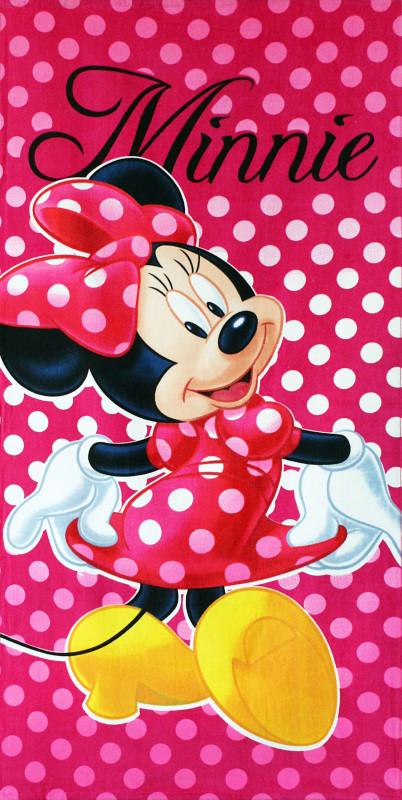 Osuška Myška Minnie / Minnie Mouse Puntíky